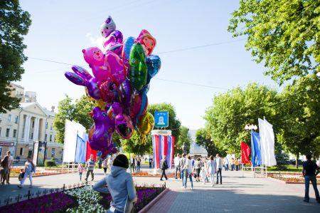 Тамбовчане отпраздновали День России и юбилей Тамбова