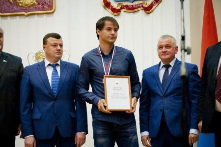 Александр Никитин поздравил с победой тамбовских футболистов