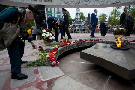 Снова в строю: День Победы 72 года спустя