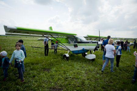 Навеки в сердце каждом небо - первый аэрофестиваль в Мичуринске