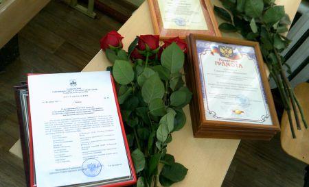 В Тамбовской ЦРБ наградили лучших медработников