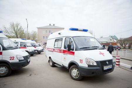 После ДТП в центре Тамбова в больницу отвезли юношу и трех девушек