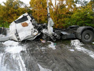 Разыскиваются родственники погибшего в ДТП под Тамбовом дальнобойщика