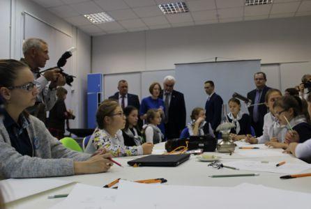 В Тамбове открылся детский технопарк «Кванториум»