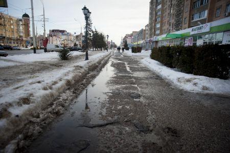 """В Тамбове оттепель и дожди сменит """"минус"""" и снег"""