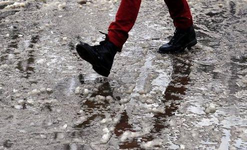 "Тамбовчан ждет ""плюс"" и мокрый снег"