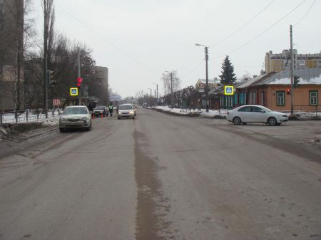 """Переход дороги на """"красный"""" вышел """"боком"""" для жителя Тамбова"""