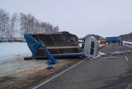 В Тамбовской области на М6 в ДТП погиб водитель фуры