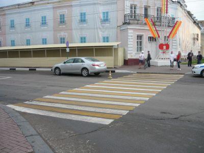 """В Тамбове на площади Ленина """"Камри"""" сбила пешехода"""