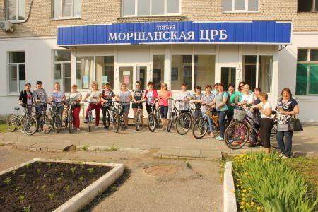 Моршанские врачи пересели на велосипеды
