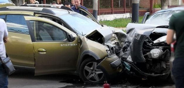 В Тамбове произошло крупное ДТП с тремя машинами