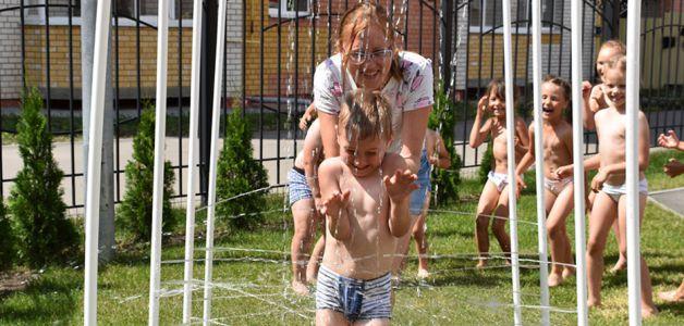 В детском саду на севере Тамбова установили циркулярный душ