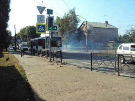 В Тамбове в автобусе пострадала 59-летняя женщина