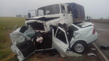 В Тамбовской области в ДТП погибли женщина и грудной ребенок