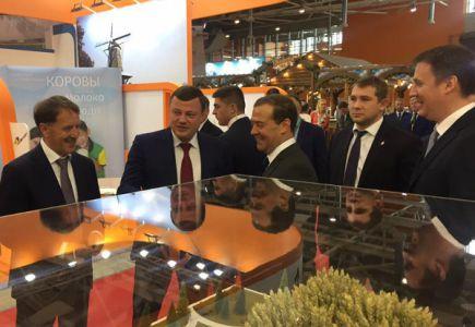 Дмитрий Медведев заинтересовался тамбовской продукцией