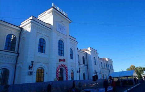 В Тамбове завершили первый этап реконструкции железнодорожного вокзала