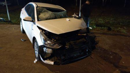Под Тамбовом произошло тройное ДТП с грузовиком, есть пострадавший