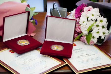 В Тамбове наградили добровольцев и детей-героев