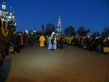 В Тамбове встретили мощи святителя Луки