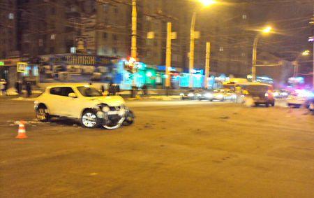 В Тамбове на Чичканова произошло крупное ДТП
