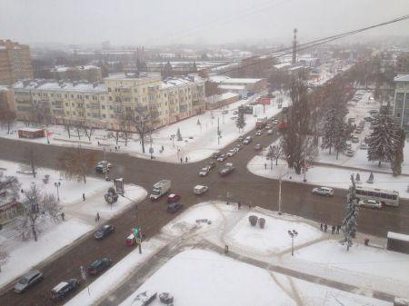 В ближайшие дни в Тамбов придут снегопады и оттепель