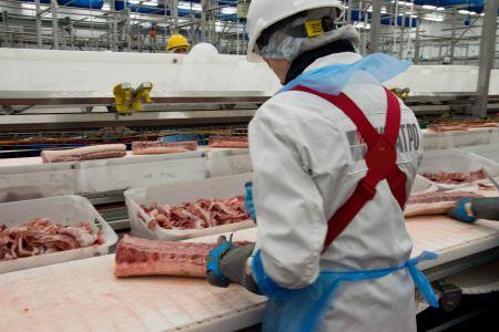 В Тамбовском районе увеличат мощности по производству свинины