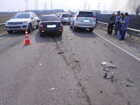 """В аварию на """"проклятой дороге"""" под Тамбовом попали 4 машины: трое в больнице"""