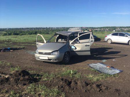 """В Тамбовской области на полевой дороге умер водитель """"Калины"""""""