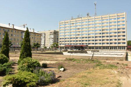 Сквер на площади Льва Толстого в Тамбове откроют 1 декабря