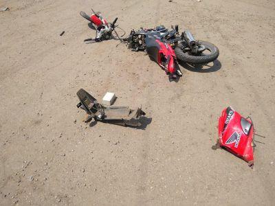 Под Тамбовом ребенок на мотоцикле въехал в иномарку: есть погибший
