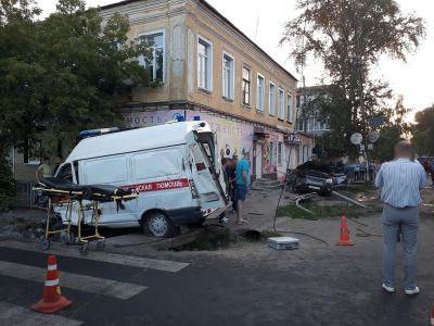 """В Моршанске в ДТП погибла фельдшер """"скорой"""", еще 5 человек пострадали"""