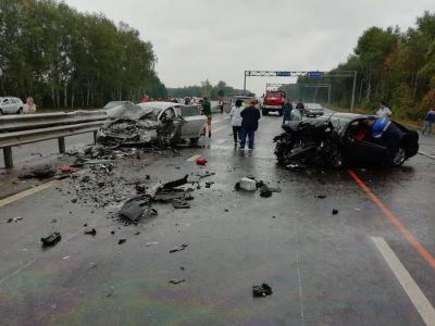 В Мичуринском районе в ДТП погибли три человека