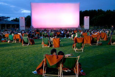 Тамбовчанам покажут кино под открытым небом