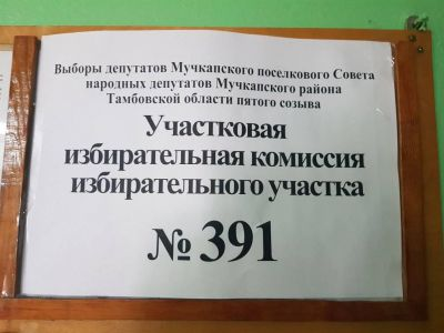 В четырех районах Тамбовской области проходят выборы