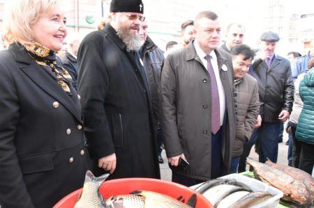 На Покровской ярмарке открыли фермерский рынок