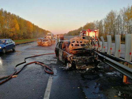 В Тамбовском районе столкнулись три автомобиля