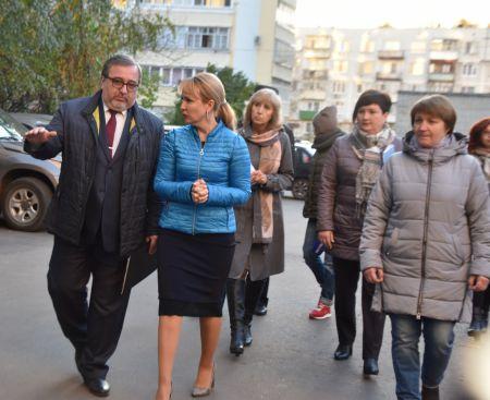 Глава города Тамбова Наталия Макаревич встретилась с активом префектуры «Полынковская»