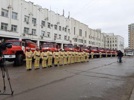 Пожарные части Тамбовской области получили новую технику