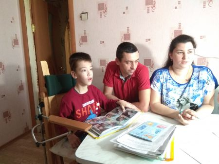 Десятилетнему Матвею с ДЦП   нужны деньги на реабилитацию