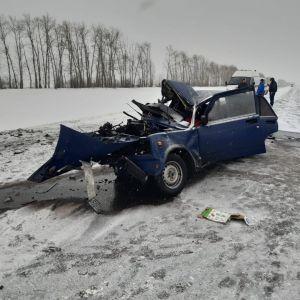 В Мучкапском районе произошло ДТП с тремя погибшими