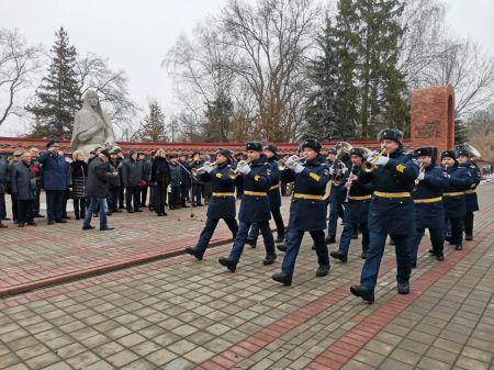 В День защитника Отечества в Тамбове прошел торжественный митинг