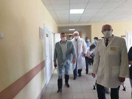 Глава Тамбовской области проверил готовность коечного фонда в Уварово