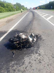 В Тамбовской области мотоциклист погиб при столкновении с фурой