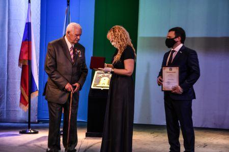 Выдающимся тамбовчанам вручили муниципальные награды