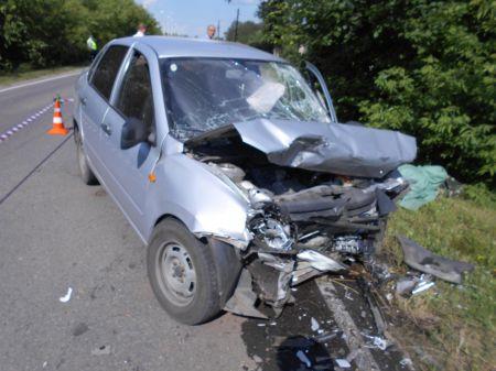 В Тамбовском районе столкнулись легковушки: погибли два пенсионера
