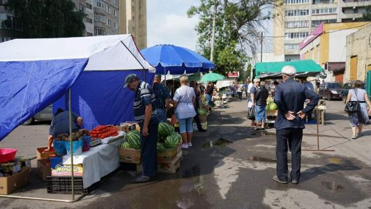 В Тамбове решено оставить спорный микрорынок на Куйбышева