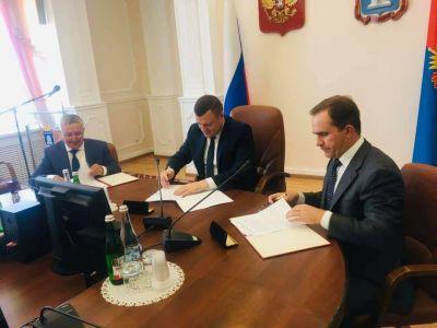 """В Тамбове подписано трехстороннее соглашение с """"Газпромом"""""""