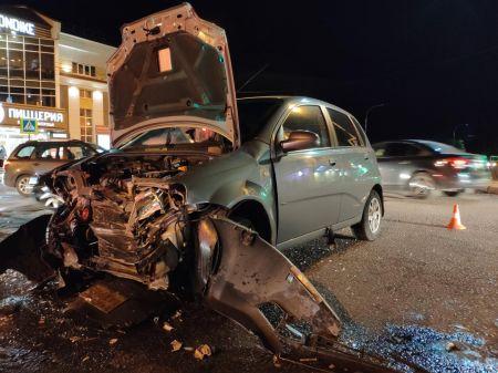 В Тамбове в аварии на улице Гагарина пострадала шестилетняя девочка