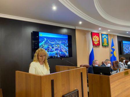Глава Тамбова Наталия Макаревич сложила полномочия