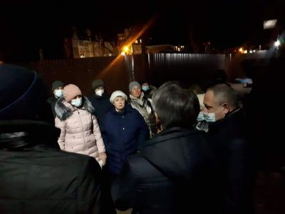 Максим Косенков посетил скандальную стройку в Тамбове на Андреевской